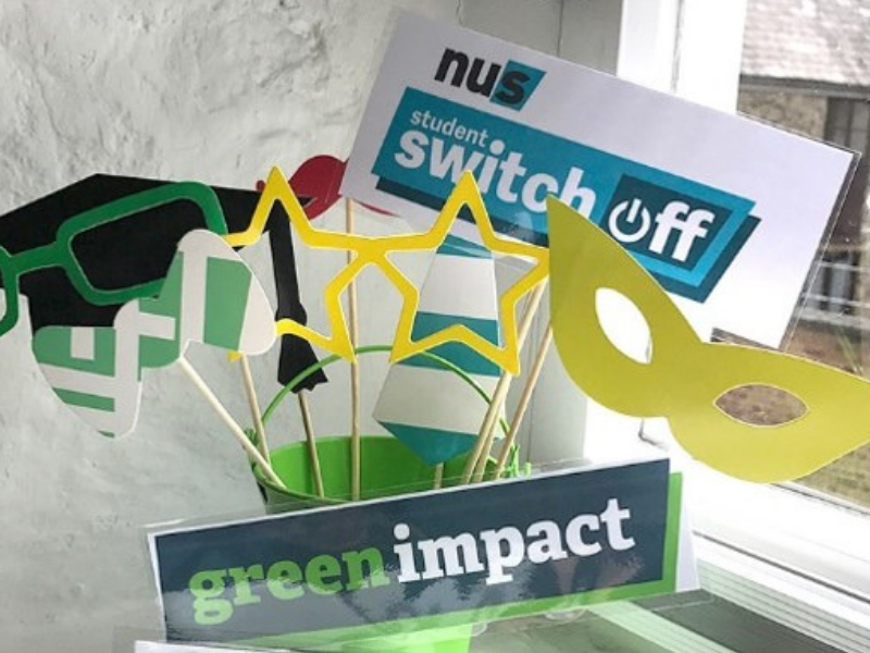 Student Switch Off and Green Impact promotion