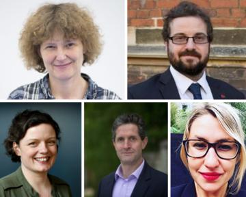 Professor EJ Milner-Gulland, Professor Myles Allen, Harriet Waters, Dr David Wallom, Kaya Axelsson