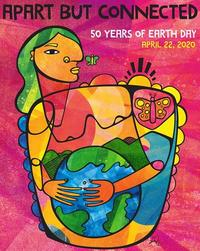 Image to promote the virtual Earth Day 2020 event.